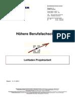 Leitfaden Projektarbeit _11.11.2011