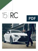 Lexus RC Brochure