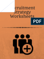 Recruitment Strategy Worksheets