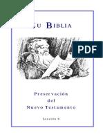 06 La Preservación de La Biblia Del NT