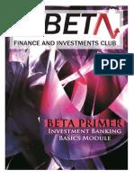 Beta Primer - IBD Basics Module 2013