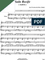 Andréa para Piano e Trompete - Partitura de Piano