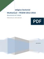 Plan Estrategico 2012 -2016