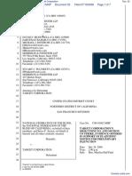 National Federation of the Blind et al v. Target Corporation - Document No. 52