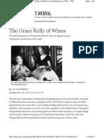 Puligny-Montrachet, The Grace Kelly of Wines Jay McInerney on Wine - WSJ