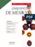 La Homeopatía de México, no. 678 (mayo-junio de 2012)