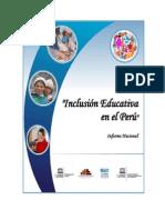 Informe Nacional Inclusión Educativa en El Perú