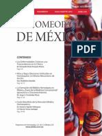 La Homeopatía de México, no. 679 (julio-agosto de 2012)