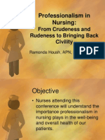 professionalism in nursing