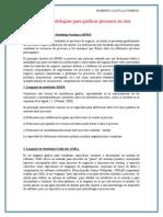 Investigue Metodologías Para Graficar Procesos en Una EmpresaGRAFICAS PARA UNA EMPRESA