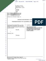 CLRB Hanson Industries, LLC et al v. Google Inc. - Document No. 67