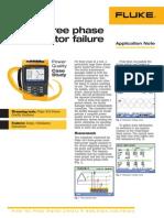 Case Study Three Phase Motor Failure
