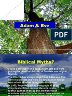 Adam and Eve Were Just Myths