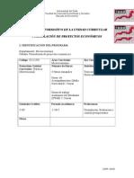 Programa Formulación de Proyectos 2015