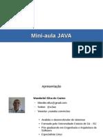 Mini Aula Java