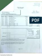 Folio Receipt