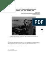 Cinema as Propaganda During Spanish Civil War