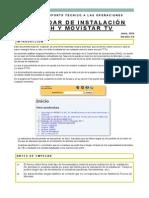 Instalacion FTTH Manual