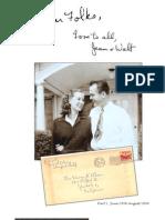 'Dear Folks'  Letters 1948-1953 by Jean Wyatt-Part 1