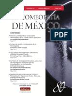 La Homeopatía de México, no. 683 (marzo-abril de 2013)