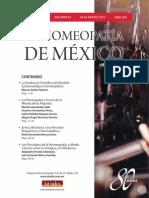 La Homeopatía de México, no. 685 (julio-agosto de 2013)