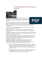 Barreiras de Proteção Passiva Contra Fogo Em Estruturas Metálicas