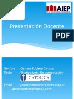 Presentacion Docente (Ingenieria de Requerimientos)
