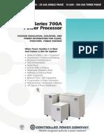 700A Power Processor Brochure