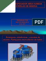 Presentacion 14 Los Estanques Espesadores para Esteriles de Mineria.ppt