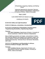 global utopias program april 9