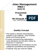 OM_MBA-I_Unit-IV.ppt