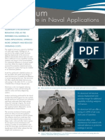 Aluminium - Hull Structure in Naval Applications