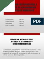 Perforacion Hidraulica Neumatica y Rotopercusion