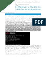 Instalacion de Windows 7 y 8 64 Bits en Boards UEFI