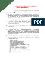 1.- Metodologìa Para El Desarrollo de Casos