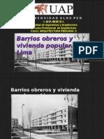 BARRIOS POPULARES DE LIMA.ppt