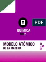Modelos atomico de la materia