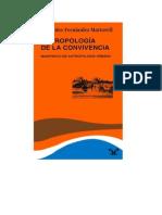 Fernandez Martorell, Mercedes - Antropologia de La Convivencia