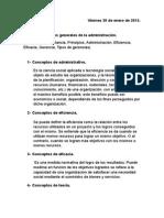 Conceptos de Administrativo