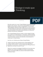 Pensar Design é Mais Que Design Thinking — Trendr Collection — Medium
