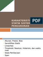 Karakteristik Dinamik Sistem Pengukuran