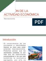 Actividad económica medición