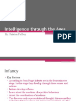 intelligence through the ages
