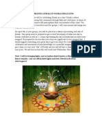 diwali festival assignment