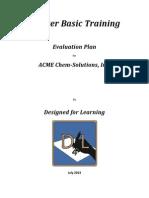 4  evaluation plan
