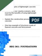 REG361 Foundation