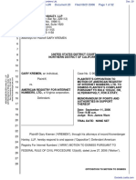 Kremen v. American Registry For Internet Numbers Ltd. - Document No. 20