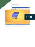 Tutorial Bajada de Datos Topcon GTS
