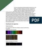 Espectros y Series Espectrales