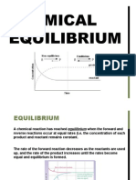 chemical equilibrium weebly notes